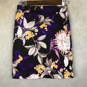 Ann Taylor Petites | Pencil Skirt | Purple | 00P